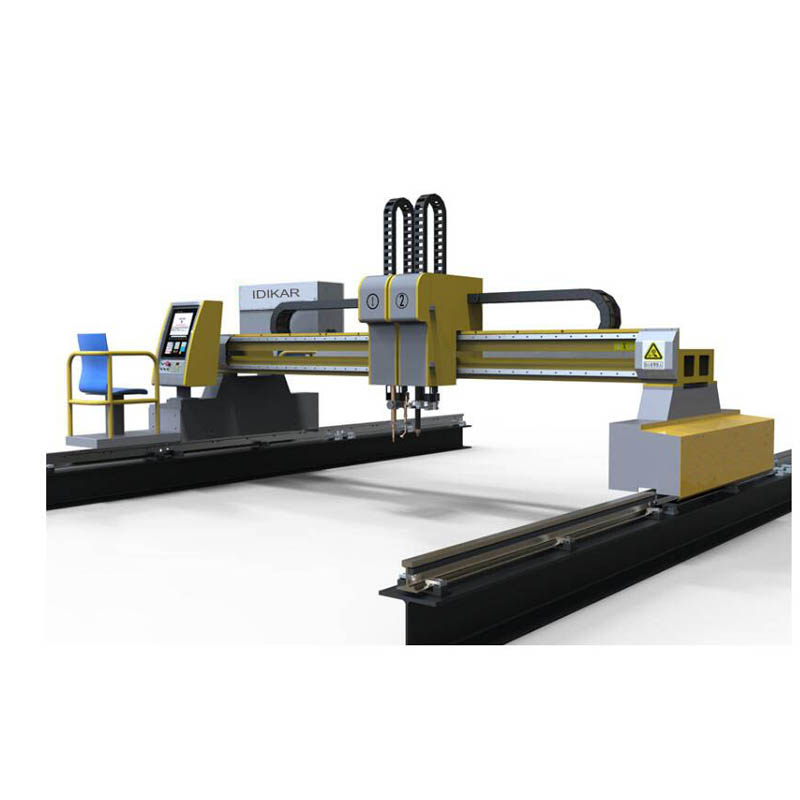 title='Bright series gantry flame and plasma cutting machine'
